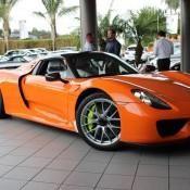 Orange Porsche 918 Spyder 1 175x175 at Gallery: Orange Porsche 918 Spyder
