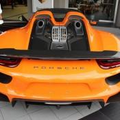 Orange Porsche 918 Spyder 3 175x175 at Gallery: Orange Porsche 918 Spyder