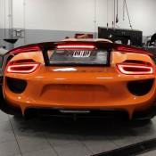 Orange Porsche 918 Spyder 4 175x175 at Gallery: Orange Porsche 918 Spyder