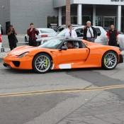 Orange Porsche 918 Spyder 6 175x175 at Gallery: Orange Porsche 918 Spyder