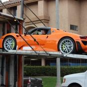 Orange Porsche 918 Spyder 7 175x175 at Gallery: Orange Porsche 918 Spyder
