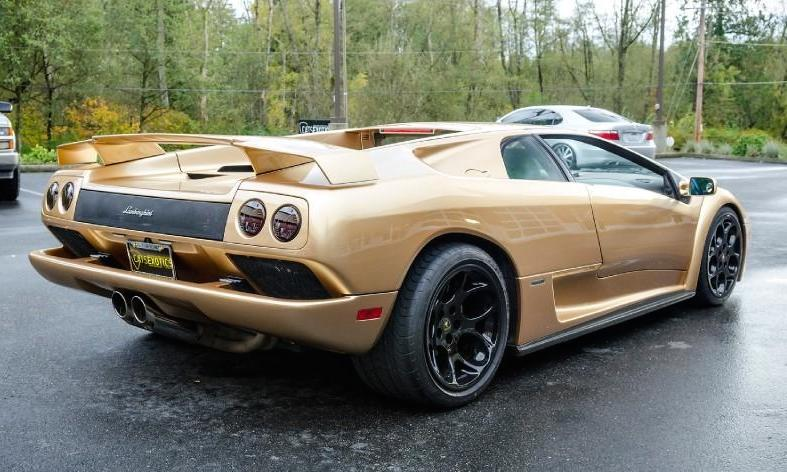 Oro Elios Lamborghini Diablo Spotted For Sale