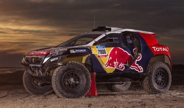 Peugeot 2008 DKR 1 600x352 at Peugeot 2008 DKR Livery Unveiled