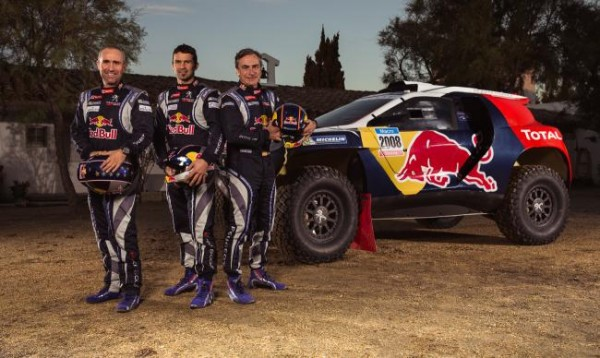Peugeot 2008 DKR 2 600x358 at Peugeot 2008 DKR Livery Unveiled