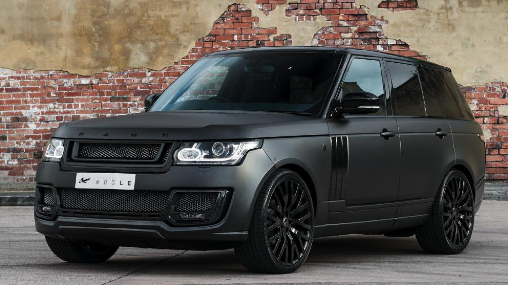 Volcanic Rock Satin Range Rover By Kahn Design
