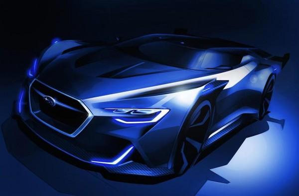 Subaru Viziv Gran Turismo 0 600x393 at Subaru Viziv Gran Turismo Concept Revealed