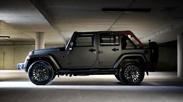 Chelsea Truck Company Jeep Wrangler Sahara