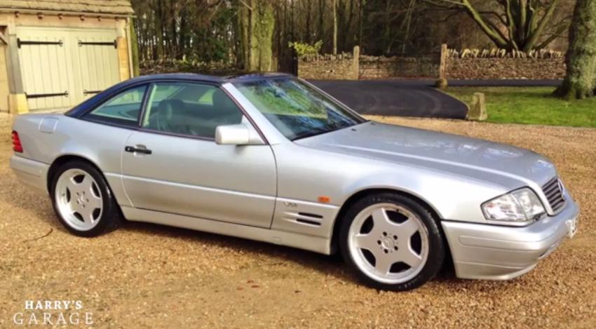 Mercedes sl 600 r129