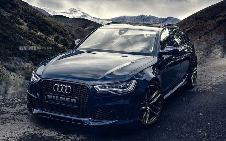 Tricked Out Audi Rs6 With Vilner Interior