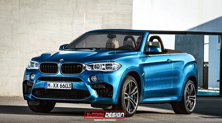 Rendering: BMW X6M Convertible