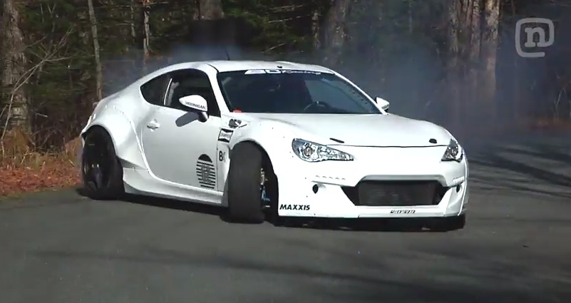 Driftgasm at Driftgasm: Scion FR S Climbs Burke Mountain Sideways!