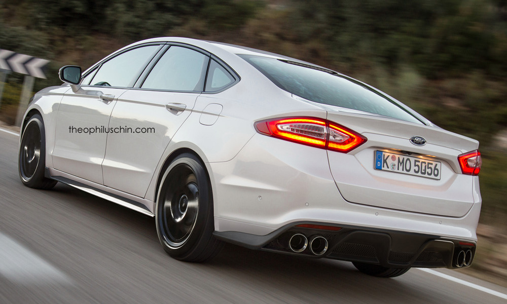 Virtual Tuning Ford Mondeo Rs