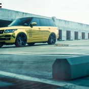 """Golden Range Rover 3 175x175 at Golden Range Rover on 24"""" Vellano Wheels"""