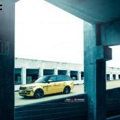 """Golden Range Rover 4 175x175 at Golden Range Rover on 24"""" Vellano Wheels"""