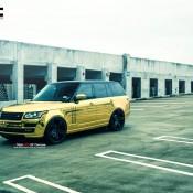 """Golden Range Rover 5 175x175 at Golden Range Rover on 24"""" Vellano Wheels"""