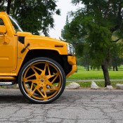 Hummer H2 34 2 175x175 at Hummer H2 on 34 inch Forgiato Wheels!