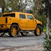Hummer H2 34 6 175x175 at Hummer H2 on 34 inch Forgiato Wheels!