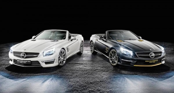 Mercedes SL63 AMG World Championship 0 600x321 at Mercedes SL63 AMG World Championship Edition by Hamilton & Rosberg
