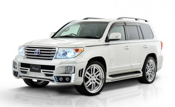 Rowen Toyota Land Cruiser 0 600x367 at Rowen Toyota Land Cruiser Styling Kit Now Ready