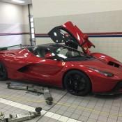 red laferrari 2 175x175 at Juicy Red LaFerrari at Horsepower Racing UK