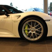 white Porsche 918 6 175x175 at Juicy Red LaFerrari at Horsepower Racing UK