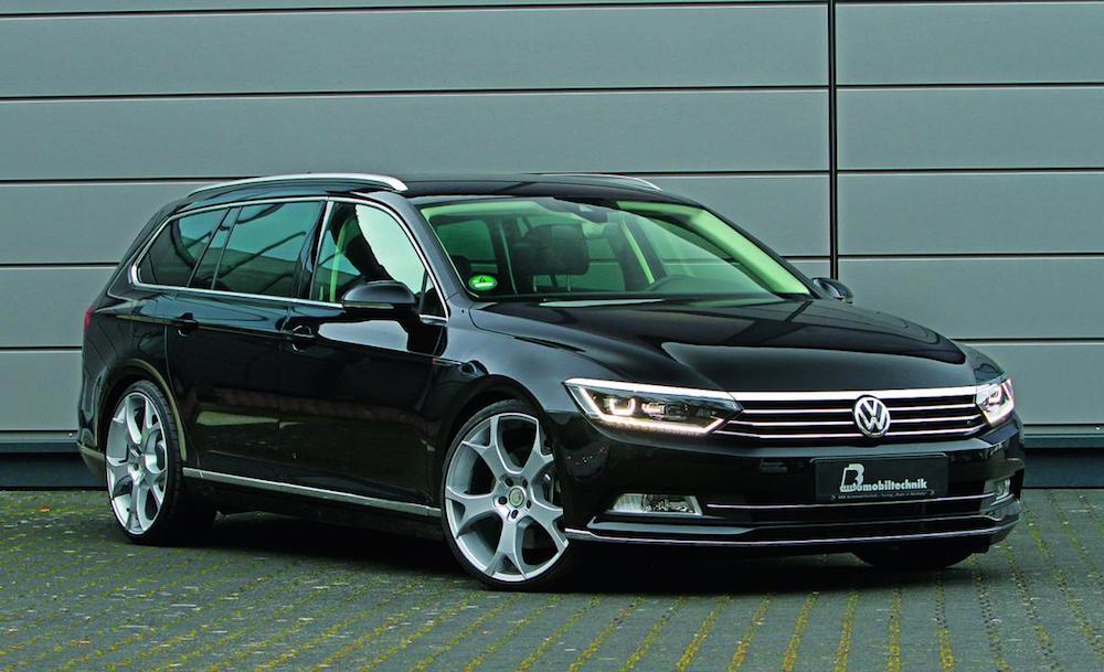 B Volkswagen Pat Wagon Tuned To 300 Ps