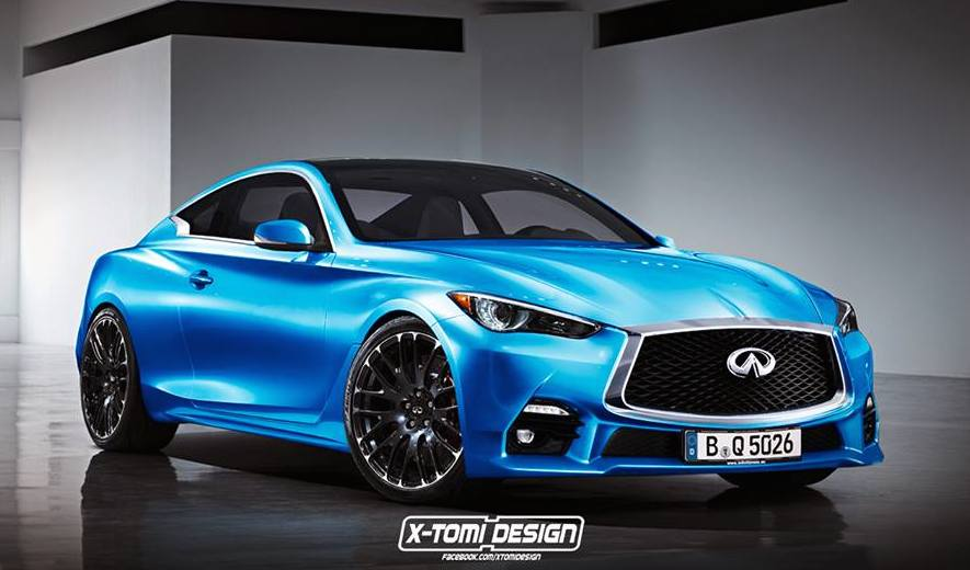 Infiniti Q60 Coupe Rendered in Production Guise