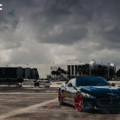 Maserati Gran Turismo MC Customs 5 175x175 at Red Wheeled Maserati Gran Turismo by MC Customs