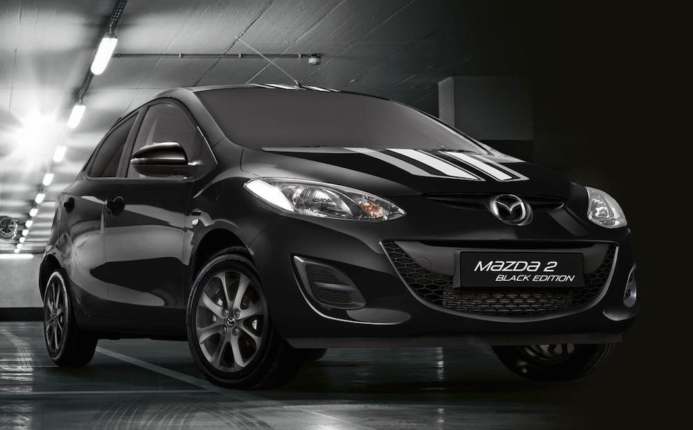 Uk Only Mazda2 Black And White Editions