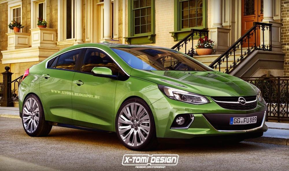 New Opel Ampera 1 at New Opel Ampera Rendered Based on 2016 Chevy Volt