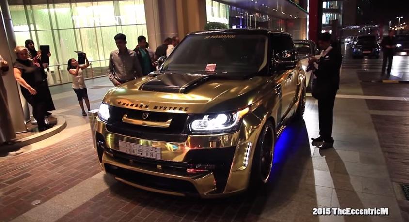 Gold Car Bonanza In Dubai 918 G63 6x6 Aventador Amp Range Rover