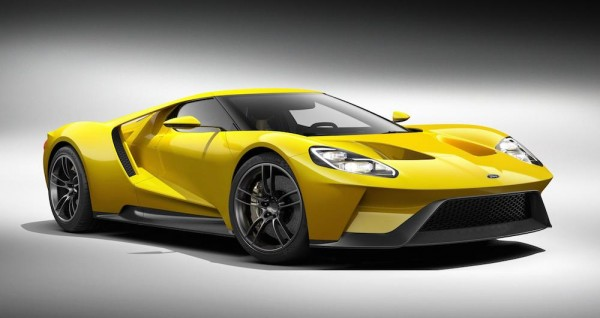 new ford gt 0 600x318 at 2015 NAIAS: Ford GT Concept