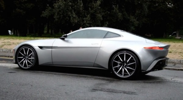 Aston Martin DB10 set 600x329 at 3X Aston Martin DB10 Spotted on Set of SPECTRE