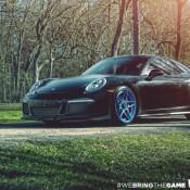 Blue Wheeled Porsche 991 GT3 1 175x175 at Blue Wheeled Porsche 991 GT3 by EVS Motors