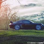 Blue Wheeled Porsche 991 GT3 2 175x175 at Blue Wheeled Porsche 991 GT3 by EVS Motors