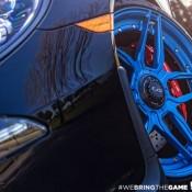 Blue Wheeled Porsche 991 GT3 5 175x175 at Blue Wheeled Porsche 991 GT3 by EVS Motors
