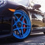 Blue Wheeled Porsche 991 GT3 6 175x175 at Blue Wheeled Porsche 991 GT3 by EVS Motors