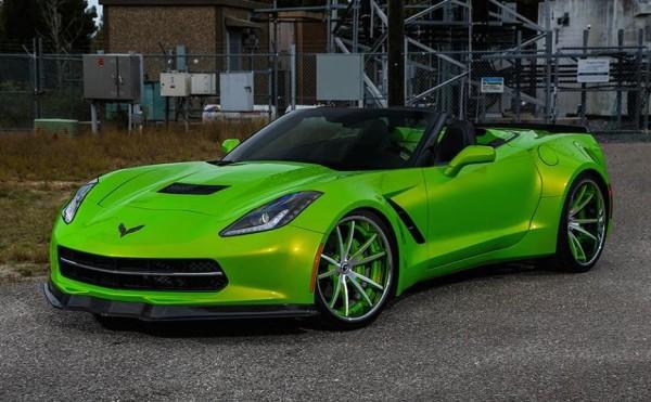 Custom Corvette C7 By Forgiato Wheels