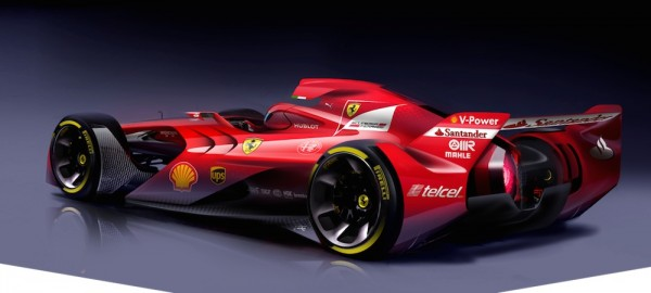 Ferrari Design Formula 1 Concept 2 600x270 at Formula 1 Cars of the Future May Look Awesome!