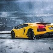 Lamborghini Aventador Snow Plow 7 175x175 at Lamborghini Aventador Snow Plow by Auto Art Chicago