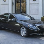 Maybach S600 14 175x175 at Mercedes Maybach S600 Shown Off in New Gallery