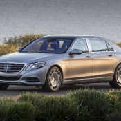Maybach S600 8 175x175 at Mercedes Maybach S600 Shown Off in New Gallery