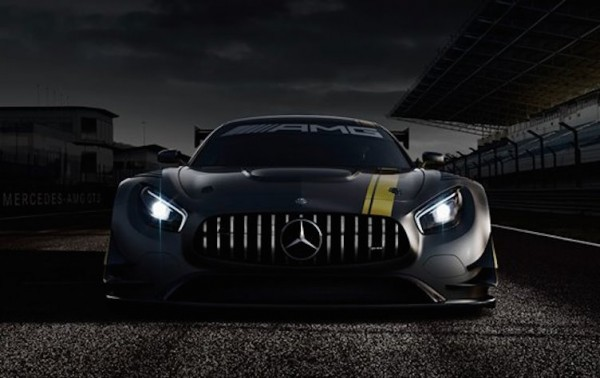 Mercedes AMG GT3 1st 600x378 at Mercedes AMG GT3 Shows its Face!