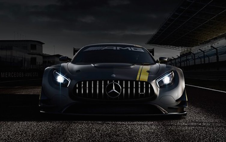 Mercedes AMG GT3 1st at Mercedes AMG GT3 Shows its Face!