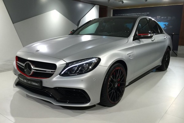 Mercedes C63 AMG Edition 1 0 600x403 at Gallery: Mercedes C63 AMG Edition 1