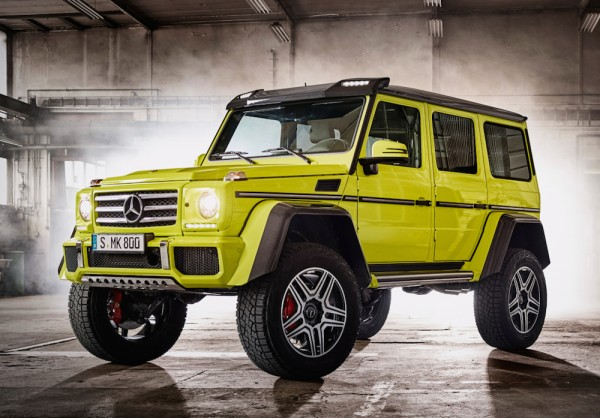 Mercedes G 500 4x4 squared 0 600x418 at Mercedes G500 4x4²   Details and Pictures