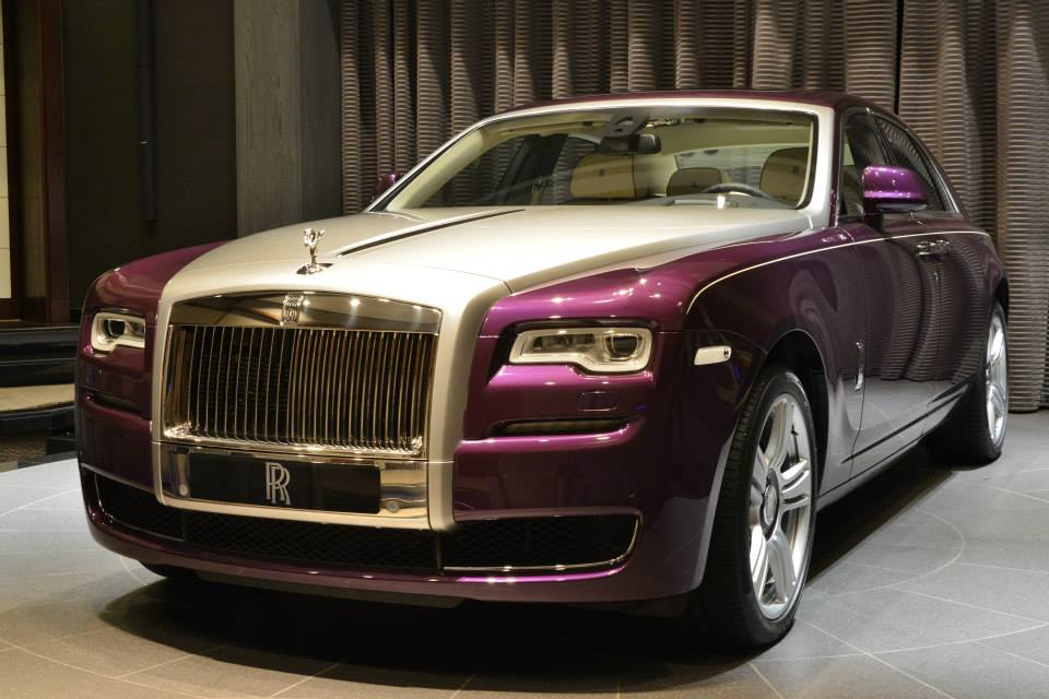 gallery purple rolls royce ghost series ii. Black Bedroom Furniture Sets. Home Design Ideas