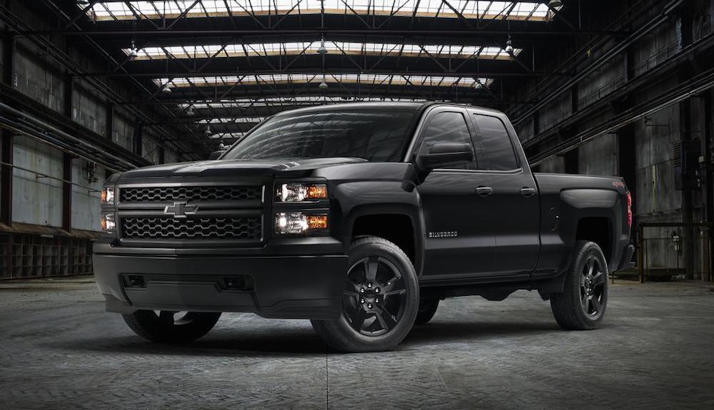 Official: Chevrolet Silverado Black Out Edition