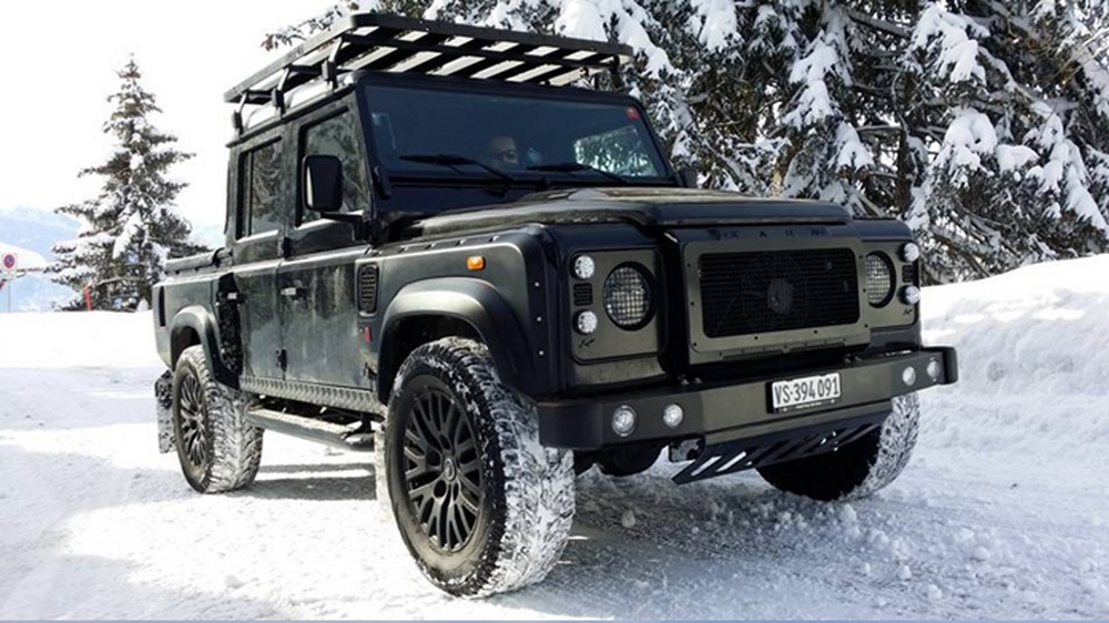 Land Rover Lr3 Off Road Wheels >> Kahn Design Defender Truck Is Freezingly Cool, Literally!