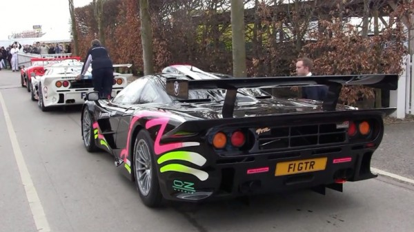 16x McLaren F1 GTR 600x337 at Must Watch: 16x McLaren F1 GTR at Goodwood